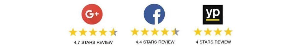 5 starts reviews logs