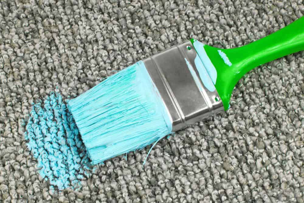 How To Remove Paint Stain From The Carpet Carpet