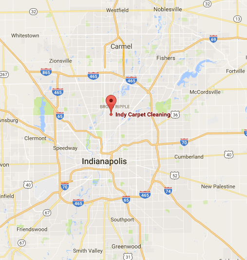 map of Indianapolis and surrounding area