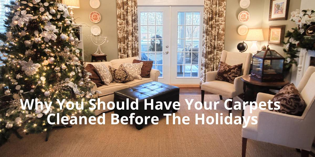 Why You Should Have Your Carpets Cleaned Before The